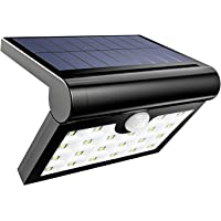 HSicily Waterproof Outdoor Solar LED Wall Lights