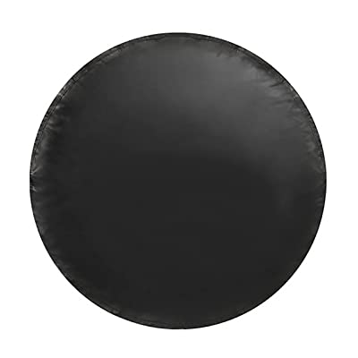 Spare Tire Cover – Must-Have Car Accessories for Your SUV, Jeep, RV, Trailer, Truck – Fit Most Wheel Sizes by Kankesh (XS(13 INCH), Black): Automotive