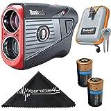 Wearable4U Bushnell Tour V5 Shift Patriot Pack Laser Golf Rangefinder with Included Carrying Case Selected Golf Bundle