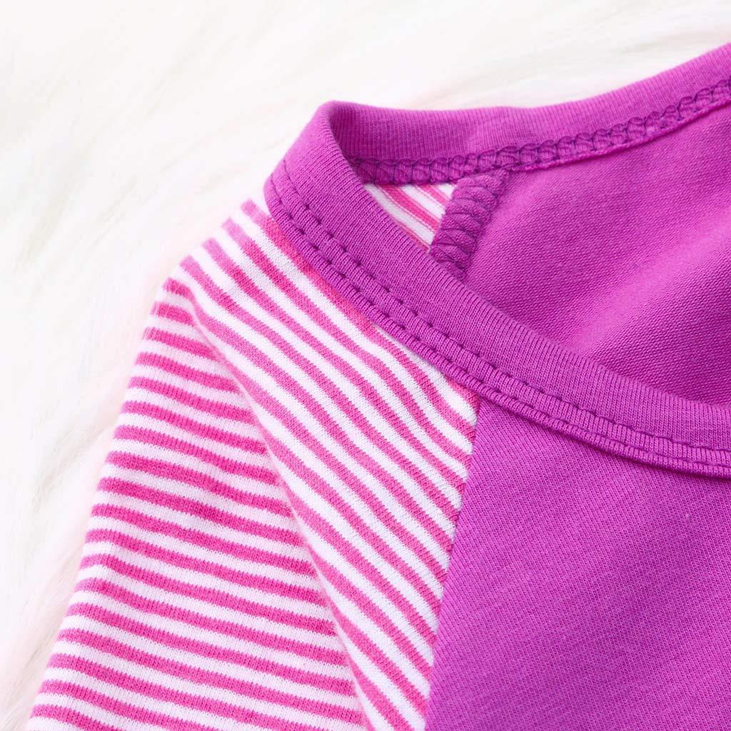 NINGSANJIN M/ädchen Kleider Baumwolle Langarm Herbst Karikatur Prinzessin T-Shirt Kleid NY-592