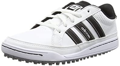 finest selection b520a 7eb0a adidas 360 Traxion, Unisex-Kinder Golfschuhe, Weiß (WhiteCore Black