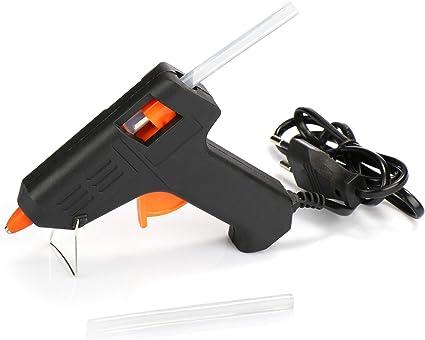 Chaud Fondre Grand 11mm Colle Pistolet 2 Bâtons 40W Arts Artisanat DIY