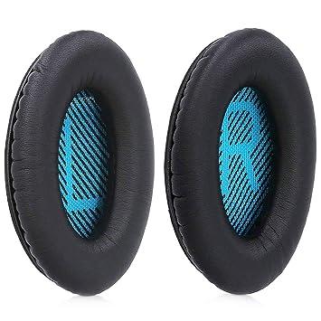 MMOBIEL Reemplazo de almohadillas para auriculares BOSE Quiet Comfort QC2/ QC15/ QC25/ QC35