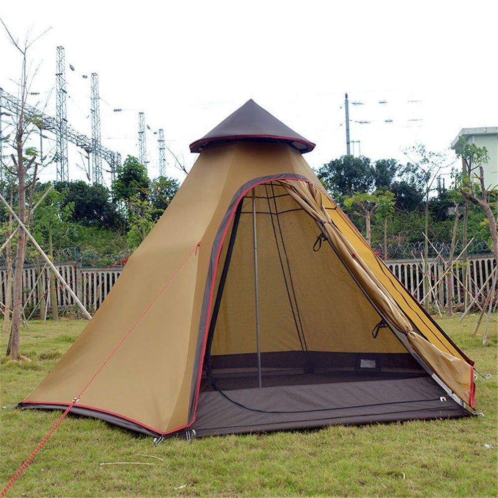 Maybesky Festzelt Outdoor Wind Beständig Camping Turm Zelte 100% Wasserdichtes Familien-Campingzelt