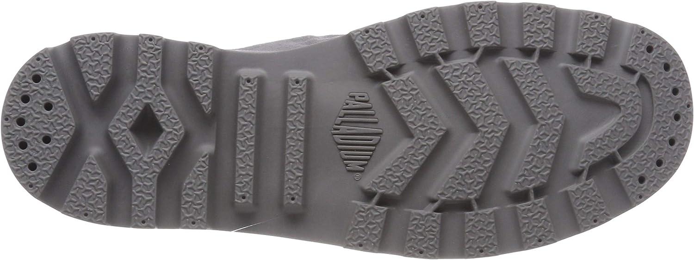 Grey Palladium Mens Pampa Hi Boots
