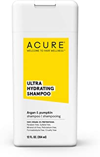 product image for ACURE Ultra Hydrating Shampoo | 100% Vegan | Performance Driven Hair Care | Argan & Pumpkin - Ultra Hydrating Moisture & Omega Fatty Acids | 12 Fl oz