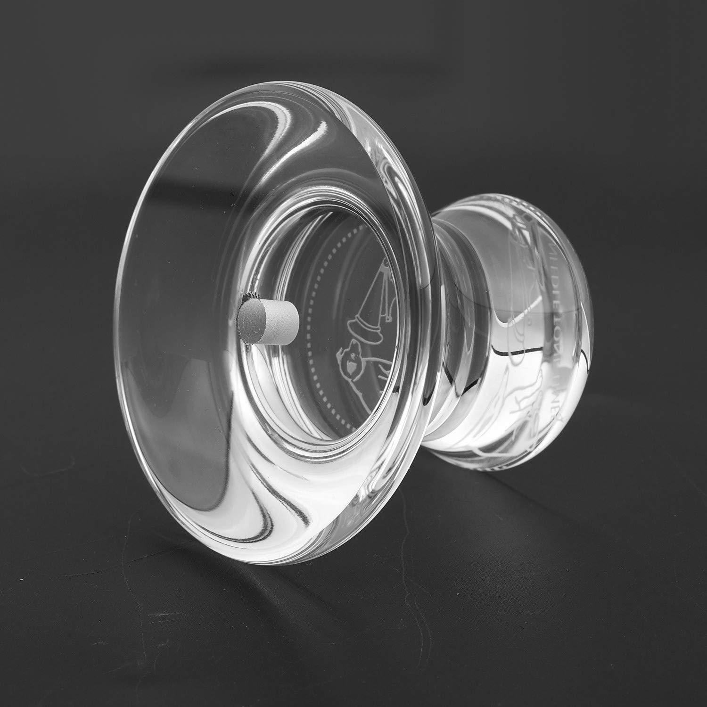 Disco di Alta qualit/à Giradischi Ammortizzatore Giradischi Convertitore Convertitore Record SODIAL Stabilizzatore a Disco in Cristallo Super Resistente K9 LP per Giradischi in Vinile