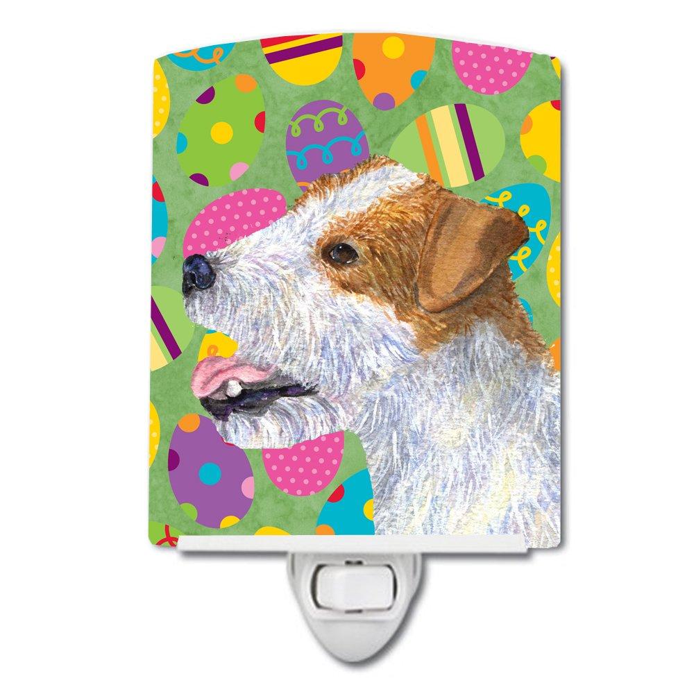 Caroline's Treasures Jack Russell Terrier Easter Night Light, 6'' x 4'', Multicolor
