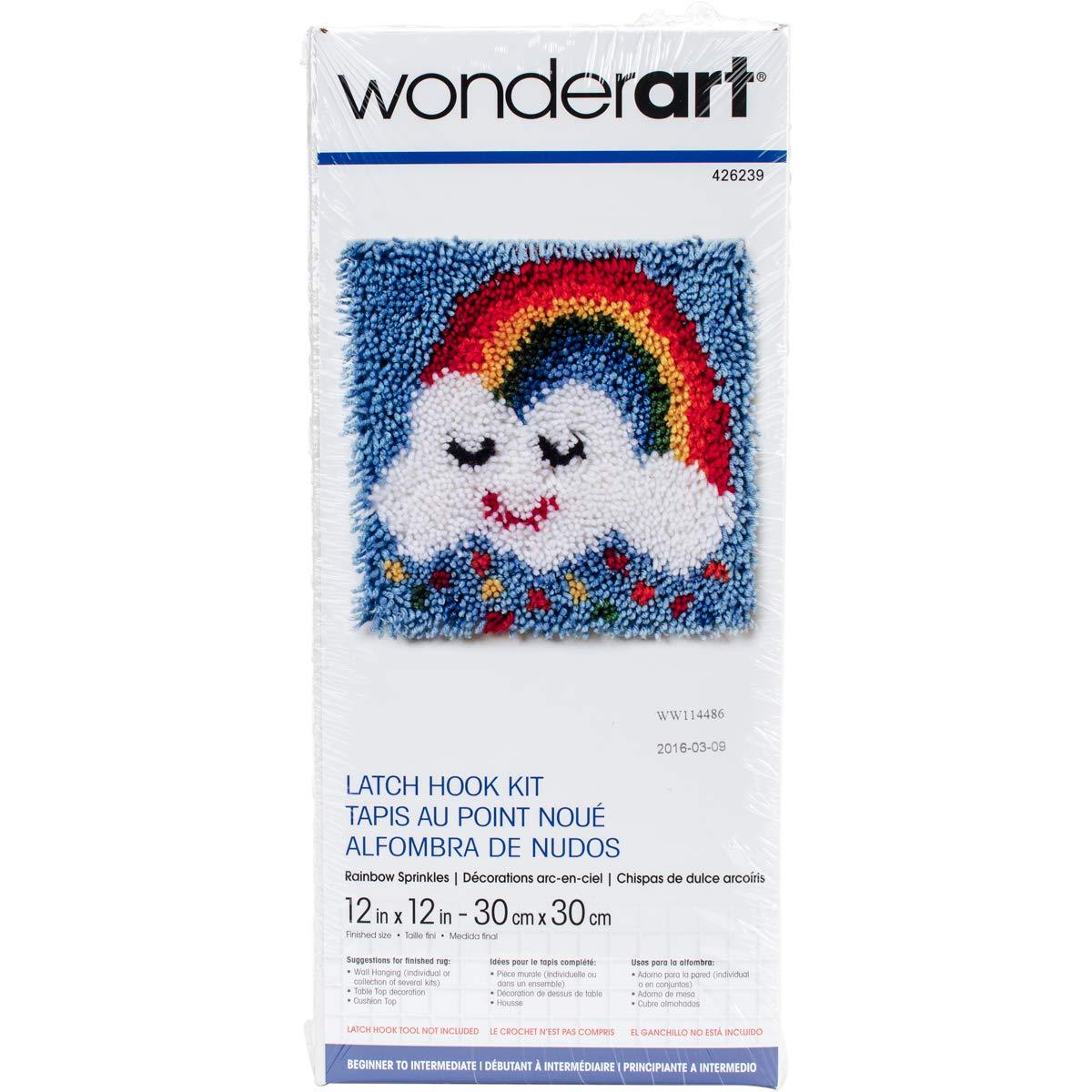 12 X 12 Wonderart Treble Clef Latch Hook Kit