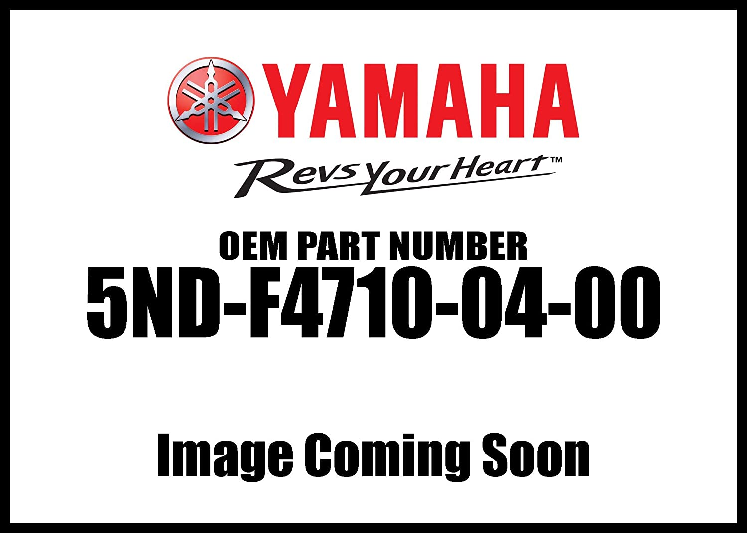 YAMAHA COMPLETE SEAT ASSY 12-14 YFM350TE 2WD GRIZZLY YFM350F 4WD 5ND-F4710-04-00