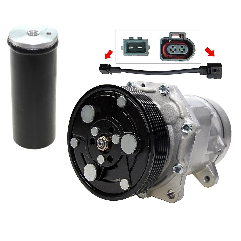 1 x climática Compresor Compresor Aire Acondicionado sd7 V16 ...