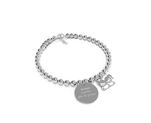 meglio vari design molte scelte di 10 Buoni Propositi Bracciale Donna Amiche più di prima Collezione Mini Jewel