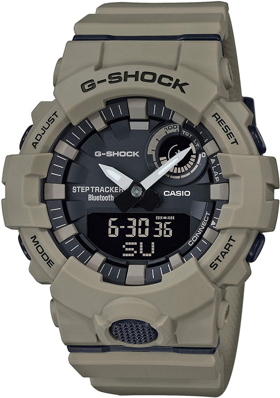 Casio Reloj Analógico-Digital para Hombre Correa en Resina GBA-800UC-5AER