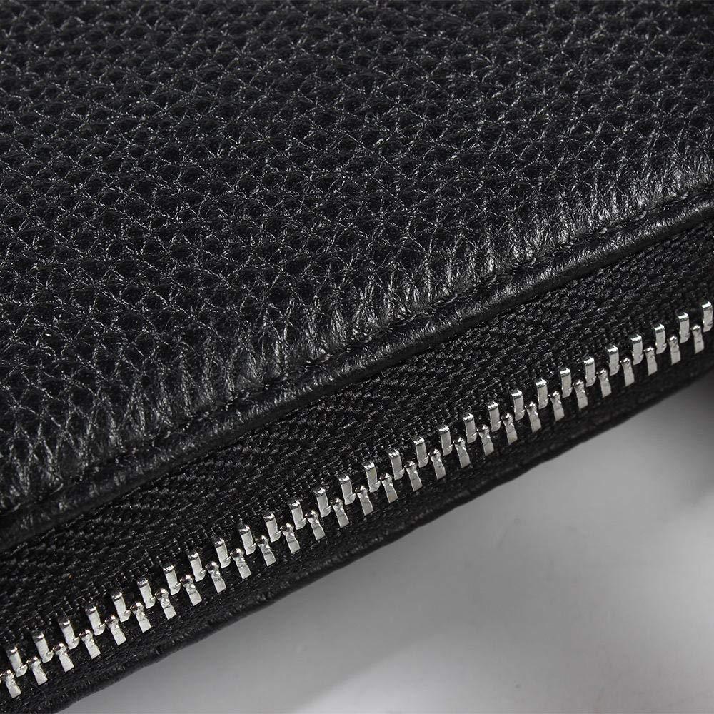 Color : AS Photo RICHARD BALDWIN Mens Bag Top Layer Leather Mens Leather Handbag Vertical Casual