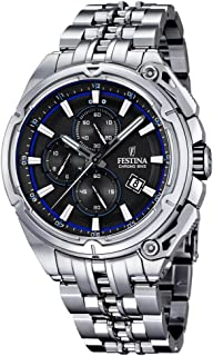 Festina F16881-5 Mens 2015 Chrono Bike Tour De France Silver Watch
