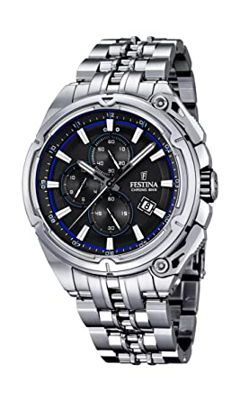 08a642e96 Amazon.com: Festina F16881-5 Mens 2015 Chrono Bike Tour De France ...