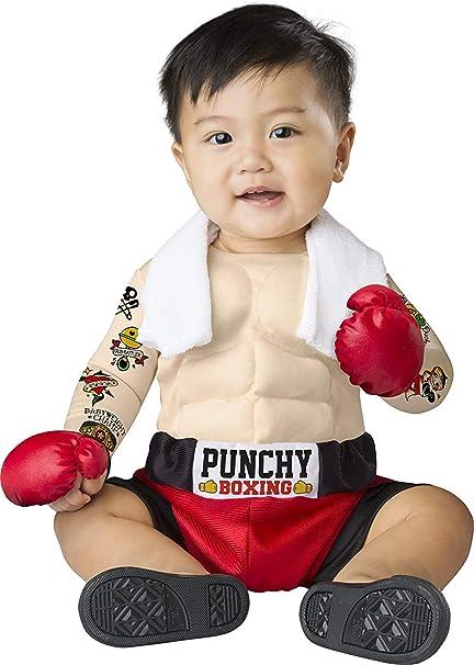 Amazon.com: Disfraz de Baby Boys Bruiser Boxer Costume ...