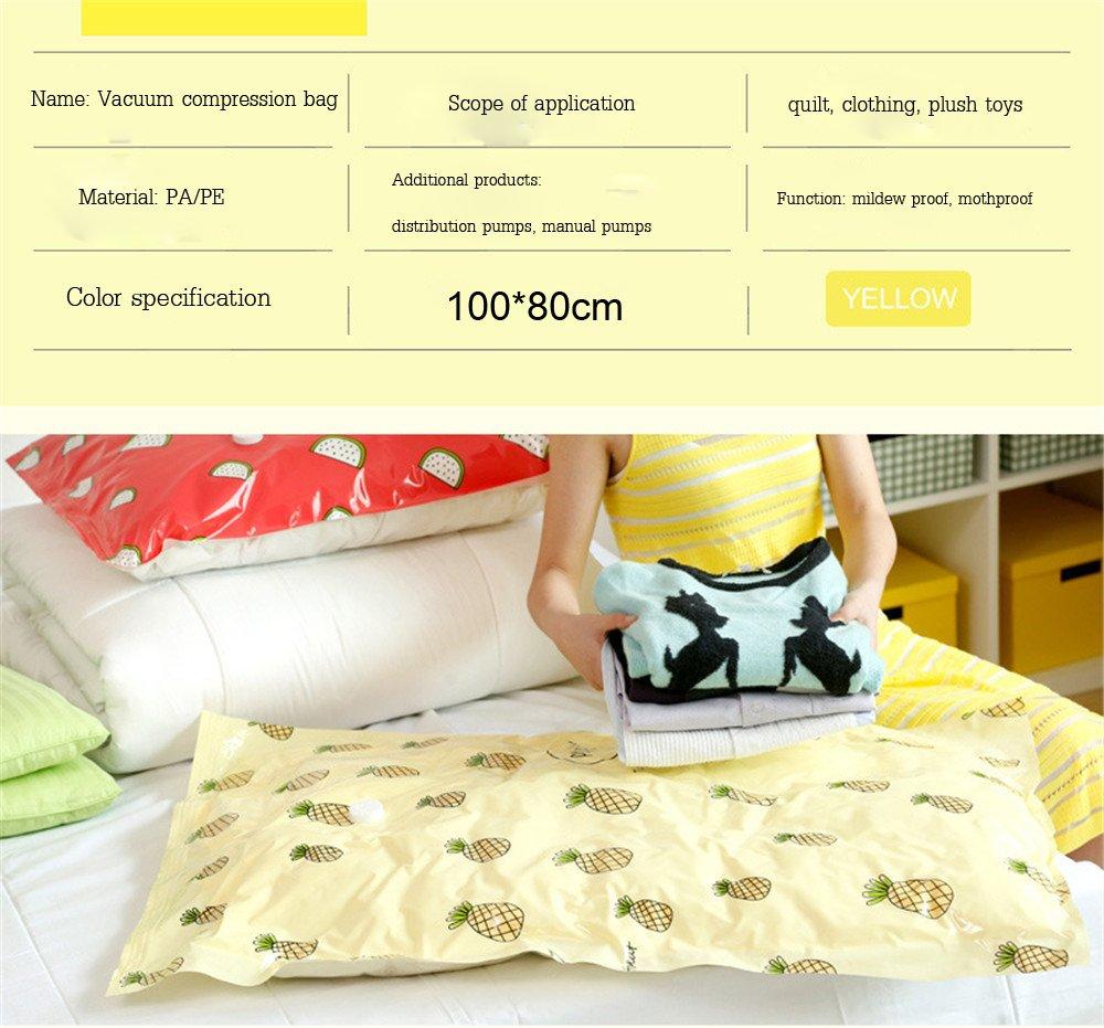 SHINING KIDS Vakuum Aufbewahrungsbeutel Ananas Extra Große Große Große 7 Pack Quilt Vakuum Kompressionstasche B07D59L7H4 Vakuum-Platzsparer 1cbffd