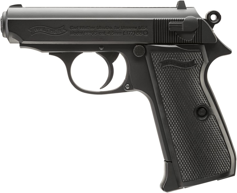 Umarex Walther Legends PPK/S .177 Caliber BB Gun Air Pistol, Black (2230163) : Sports & Outdoors