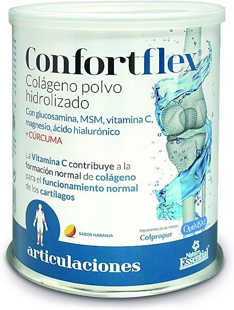 Confortflex® colágeno polvo hidrolizado con, magnesio, glucosamina ...