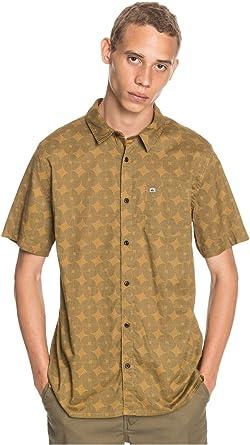 Quiksilver Threads Print Pack - Camisa de Manga Corta para Hombre EQYWT04033: Amazon.es: Ropa y accesorios
