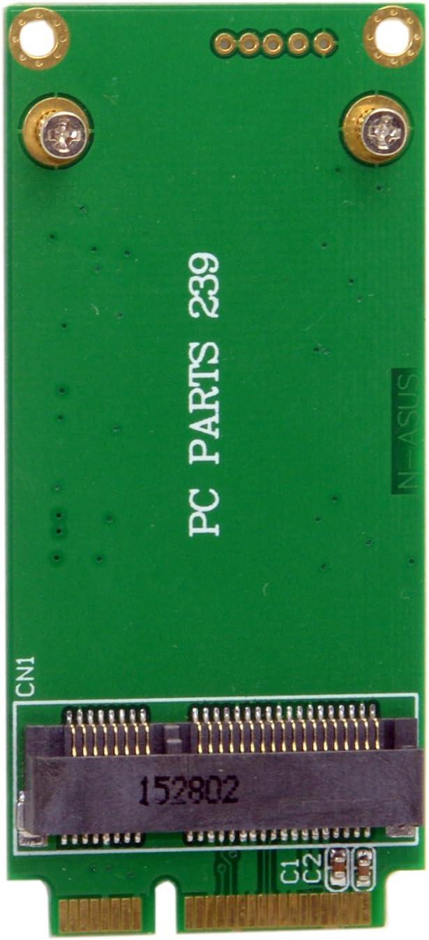 jser 3 x 5 cm mSATA adaptador para 3 x 7 cm Mini PCI-E sata ssd ...
