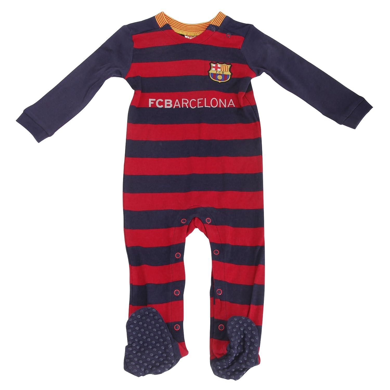 Barcelona FC (2015/16) fútbol bebé Pelele para bebé (de varios tamaños para elegir.) regalo ideal para ventilador de cualquier young.