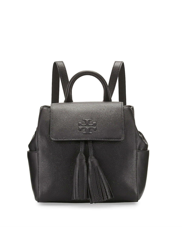 f09e82aff45 Amazon.com: Tory Burch Thea Mini Backpack Black Leather Bag: Shoes