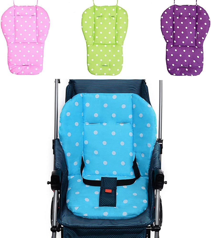 Materassino per passeggino carrozzina universale a pois ovetto o seggiolino per bambini
