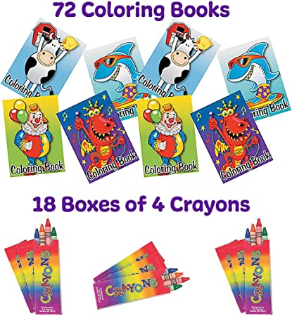 Childrens Colouring Books Activity Set Gift Book Fun For Kids!