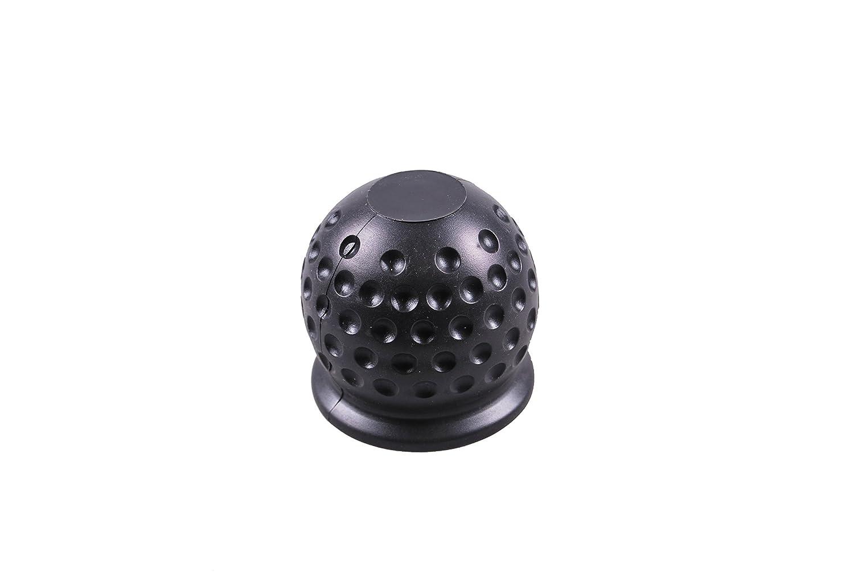 Remolque Invierno Hoff goma protectora a hembra de todas las bolas 50  mm de diá metro negro, Negro Bünte