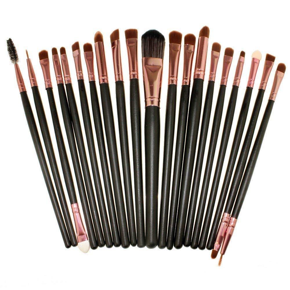 CINEEN 20 pièces pinceaux de maquillage professionnel visage Fard Ombre à Paupières Fond De Teint Pinceaux Poudre Cosmetics Pinceau