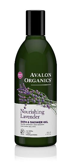 Amazon Avalon Organics Bath Shower Gel Nourishing Lavender 32 Fluid Ounce Beauty