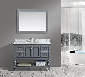Amazoncom Urbanfurnishingnet Silvia 48 Inch 48 Bathroom Sink