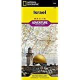 Israel (National Geographic Adventure Map (3208))