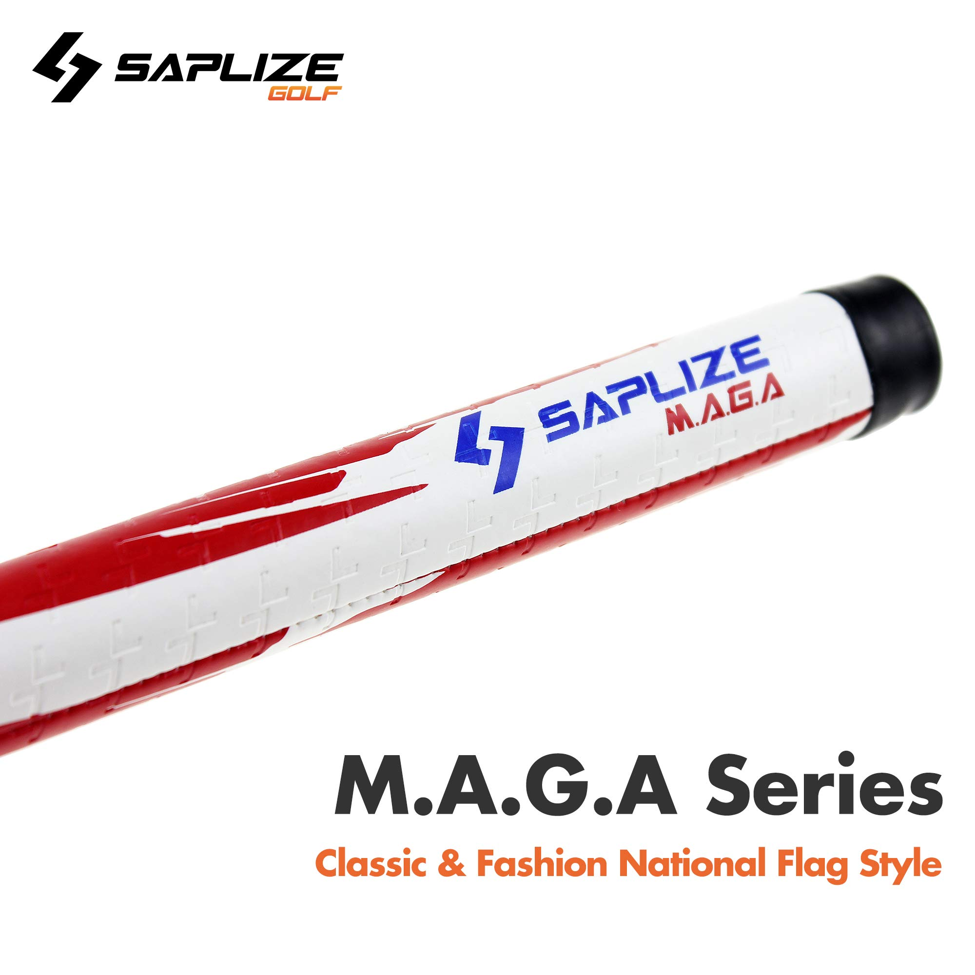 SAPLIZE Golf Club Grips for Irons and Woods, M.A.G.A. Series(PUST13), Standard Size, Set of 13 Grips by SAPLIZE (Image #3)