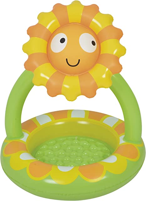 JILONG Sunflower Canopy Pool - Piscina Infantil con Suelo ...