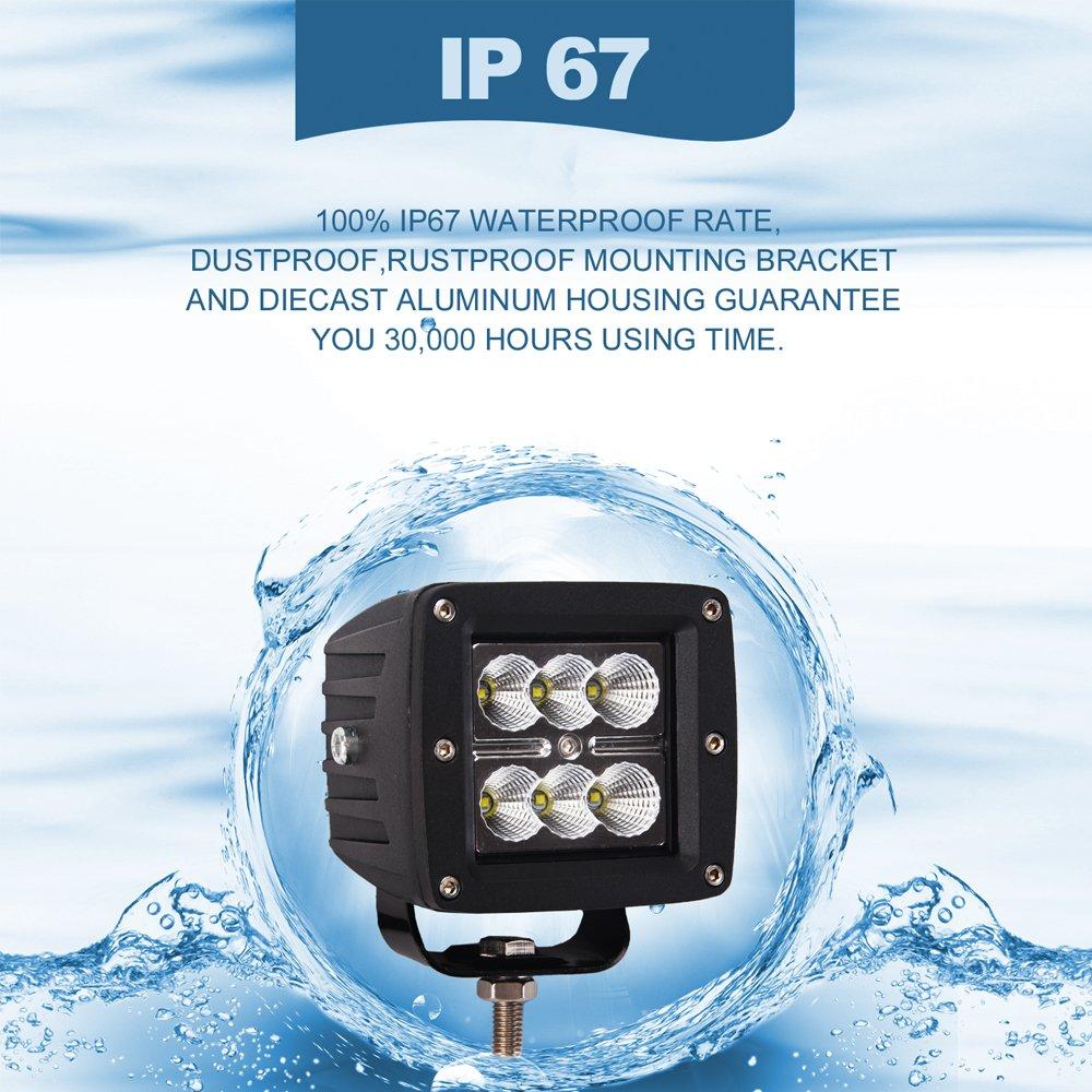 Glotech Led Light Bar Wiring Harness Kit 12v 40a Fuse Relay On Ip