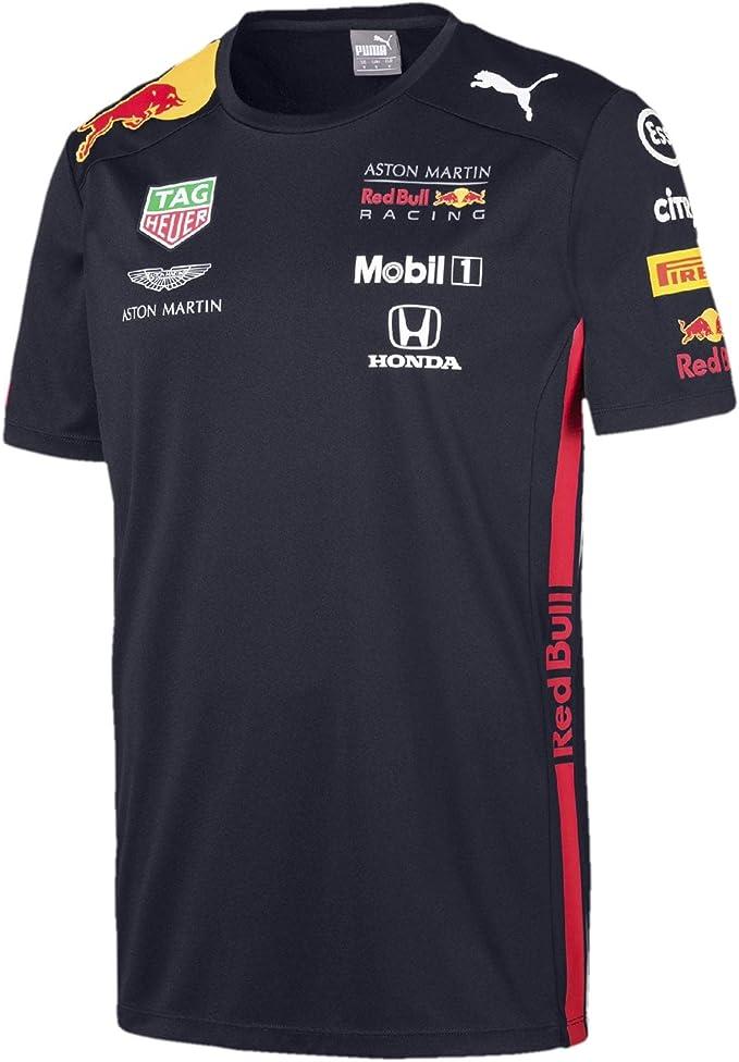 Red Bull Racing Jungen Aston Martin Kids Team Tee 2019 104 3 4 T Shirt Blau Navy Navy Herstellergröße Bekleidung