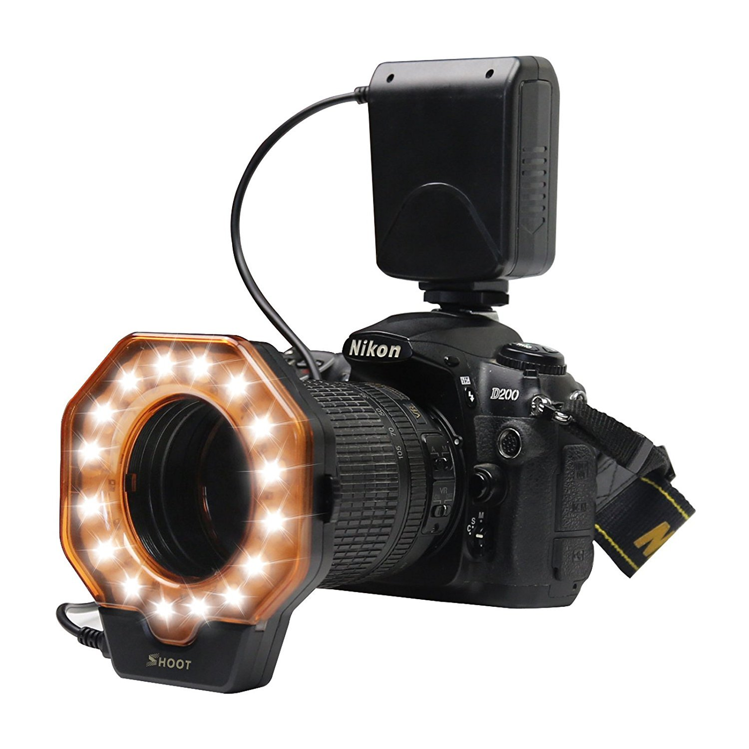 Macro LED Ring Du0026F 32 Photo Video Lighting Bundle Close-up Photography for Canon  sc 1 st  Amazon.com & Best Rated in Macro u0026 Ringlight Flashes u0026 Helpful Customer Reviews ... azcodes.com