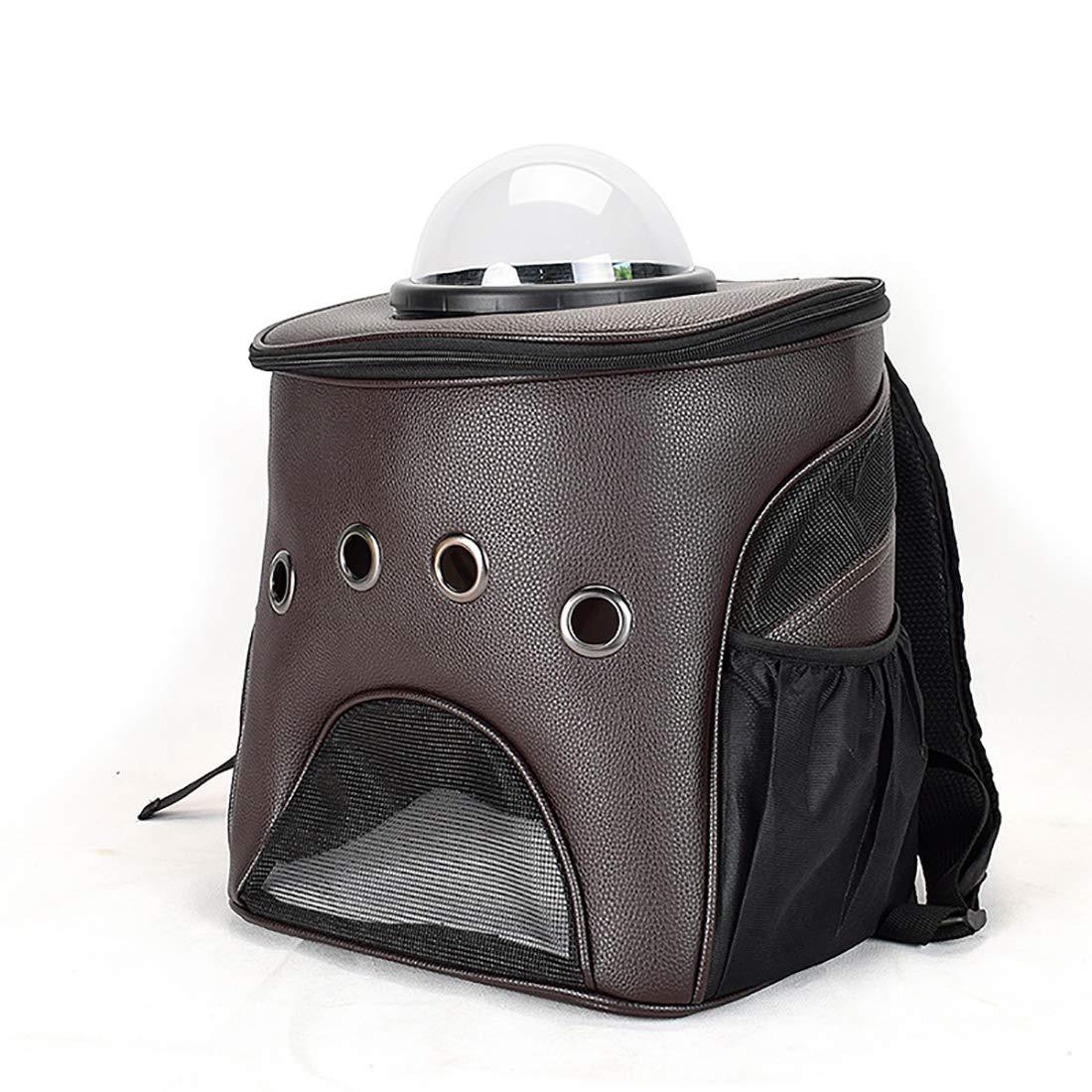 Black Pet Supplies Pet Bag Space Capsule pet Bag Multifunctional Folding pet Bag Car pet Bag Pet Bag Breathable 33.5  26.5  36.5 cm