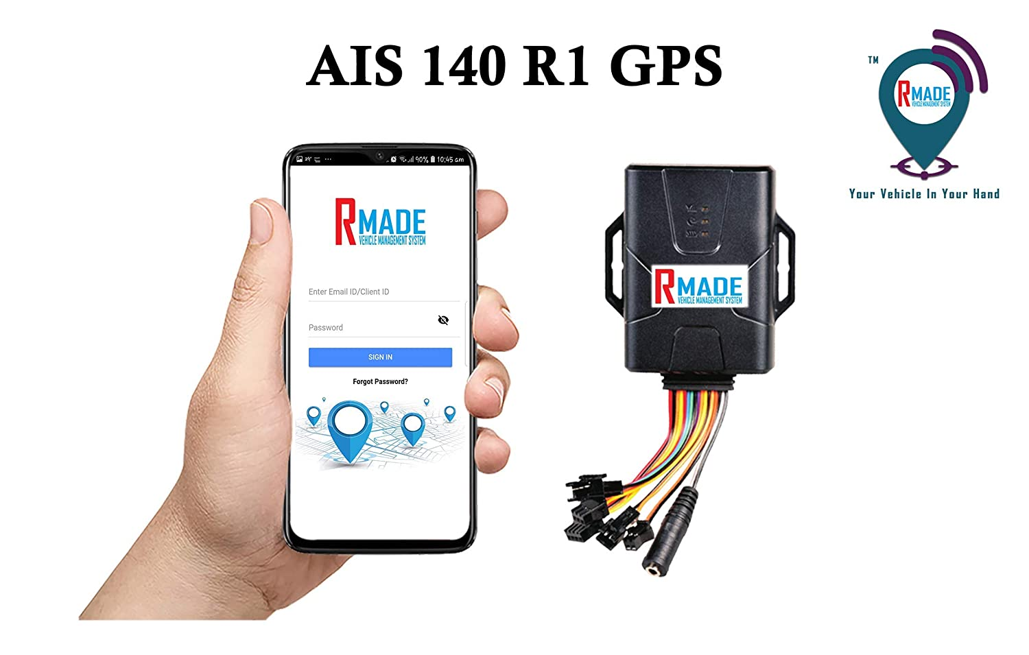 R MADE WE ARE TRAILBLAZERS AIS 140 Govt Approved GPS: Amazon