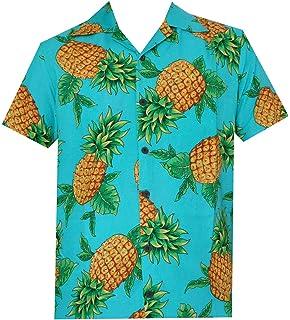 be3552d91 Hawaiian Shirts Mens Beach Aloha Party Holiday Camp Casual Short Sleeve