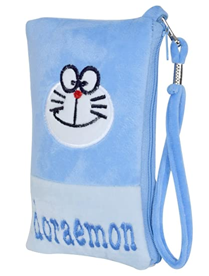 Buy Chords Classic Doraemon Mobile Pouch In Soft Toy Pencil Pouch
