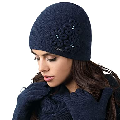 3b0c3220de2 Kamea Femmes Bonnet   Fleurs Souple Corato
