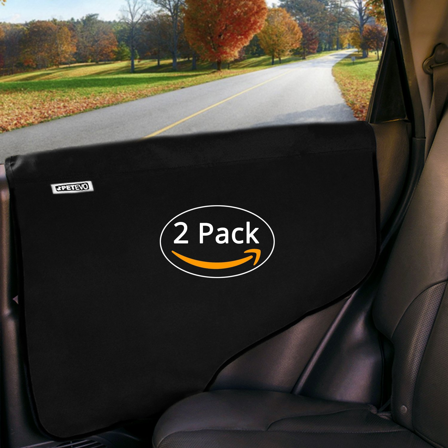 Amazon.com : Pet Car Door Protector for Dogs | Interior Cover Guard Vehicle  Back Door Protection from Pets Scratch Drooling Nails Large Safe No Slip  Stick ...