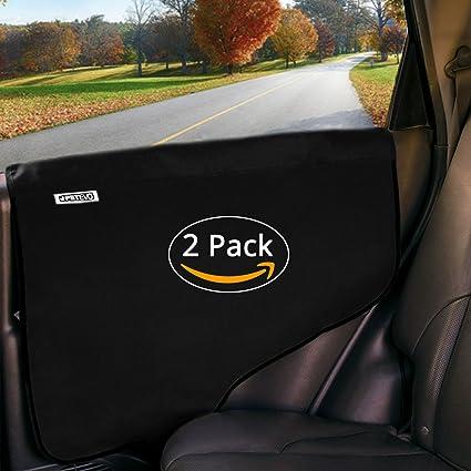 Dog Car Protector >> Amazon Com Pet Car Door Protector For Dogs Interior Cover Guard