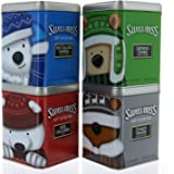 Swiss Miss Hot Cocoa Mix Assortment, Gift Pack 4 Tins, 6 oz Each - 24 oz Total