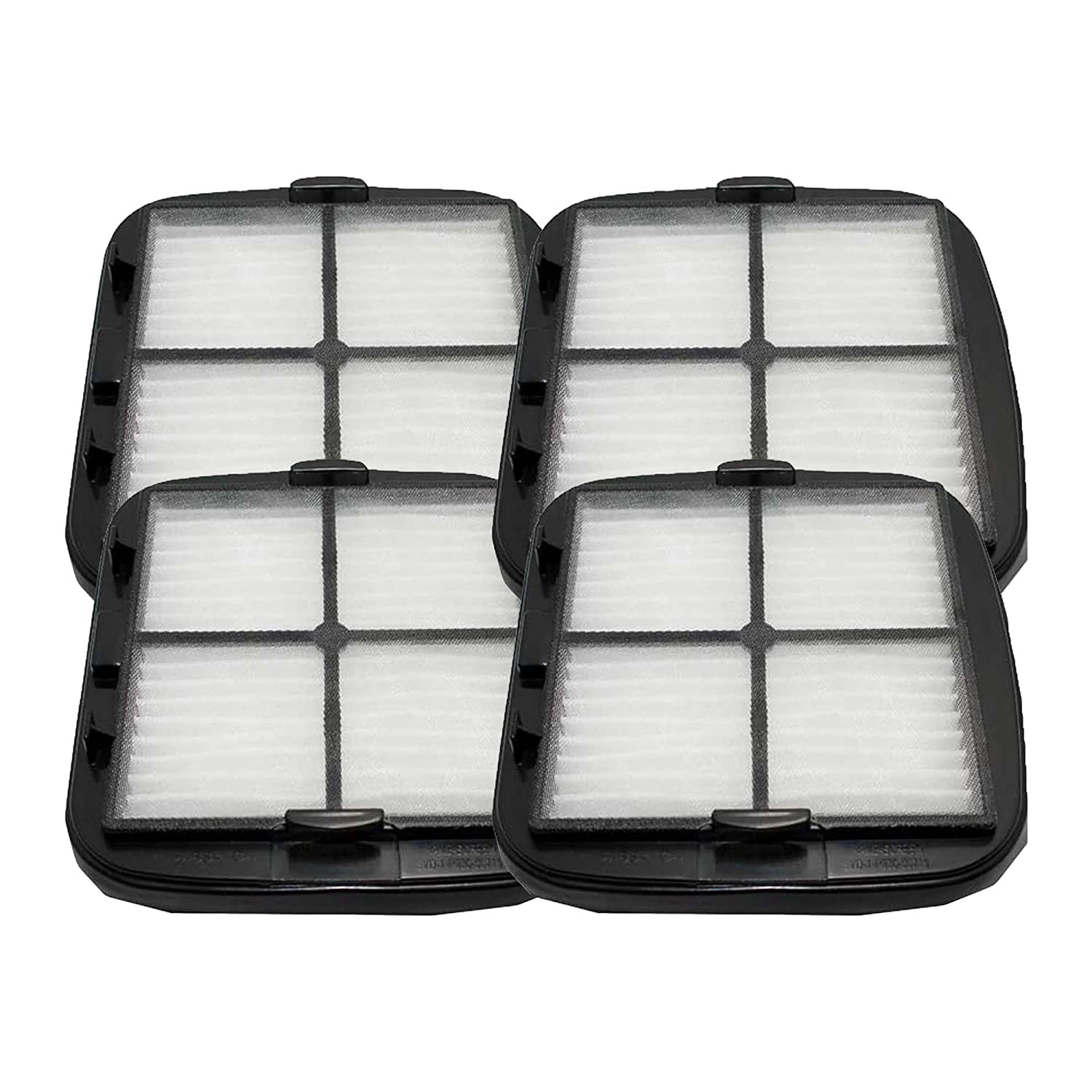 4 Bissell Hand Vac HEPA Filter and Filter Screen Fits Bissell Hand Vac Auto-Mate Pet Hair CleanView Vacuum Models 27K6, 33A1B, 47R5A, 47R5B, 33A1, 47R5, 47R51, Part # 203-7416, 203-1432, 2037416, 2031432, Designed and Engineered by Crucial Vacuum Bissell 2