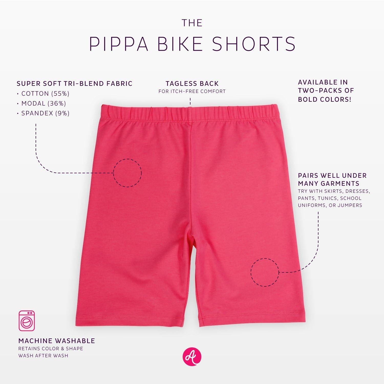 Encaje Tagless algod/ón Suave LUCKY Jada Ni/ñas Pantalones Cortos para Bicicleta Ropa Interior 3/Unidades